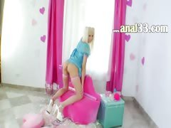 blond anal acrobat with...